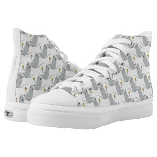 The Big Cheese High-Top Sneakers