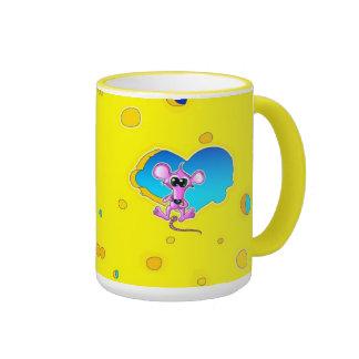 The Big Cheese Ringer Coffee Mug
