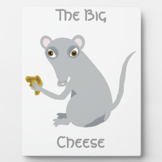 The Big Cheese Plaque