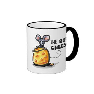 The Big Cheese Ringer Mug