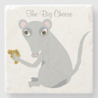 The Big Cheese Stone Coaster