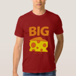 Hand shaped The Big Cheese T-shirts