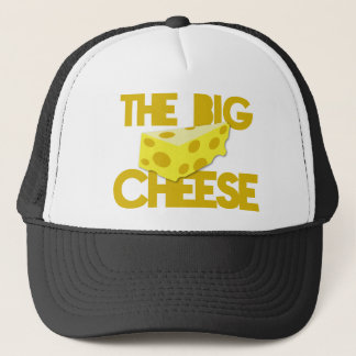 THE BIG CHEESE the boss design with cheese! Trucker Hat
