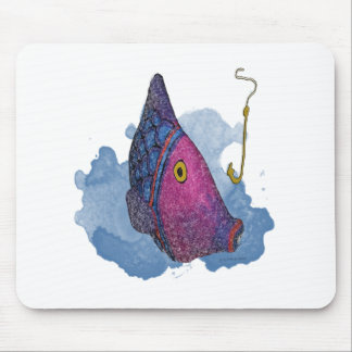 The Big Colorful Fish Gifts and Apparel Mousepads