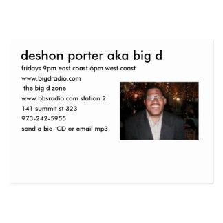 the big d zone info card