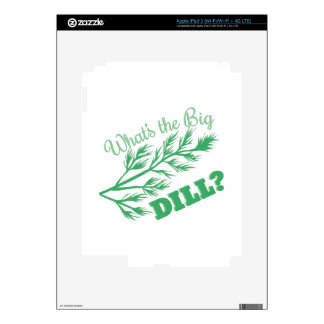 The Big Dill Decals For iPad 3