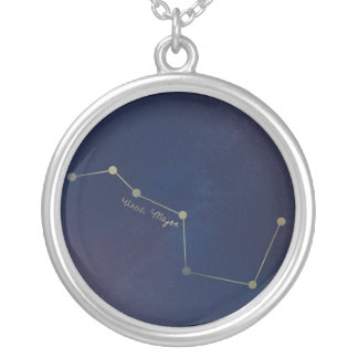 The Big Dipper Silver Plated Necklace