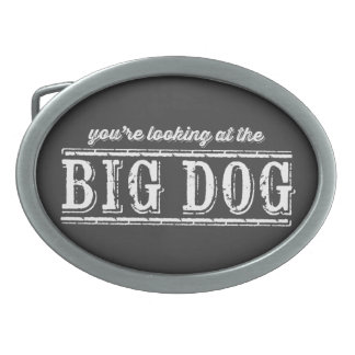 The Big Dog Belt Buckle