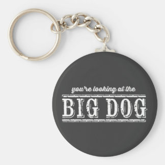 The Big Dog Keychain