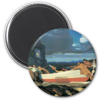 The Big Dory, George Bellows 1913 2 Inch Round Magnet