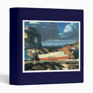 The Big Dory, George Bellows 1913 3 Ring Binder