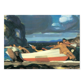 The Big Dory, George Bellows 1913 Card