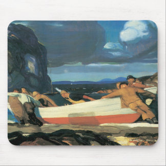 The Big Dory, George Bellows 1913 Mouse Pad