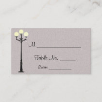 The Big Easy Wedding Place Cards