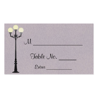 The Big Easy Wedding Place Cards Double-Sided Standard Business Cards (Pack Of 100)