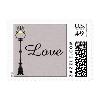 The Big Easy Wedding Postage Stamp
