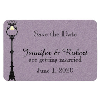 The Big Easy Wedding Save the Date Rectangular Photo Magnet