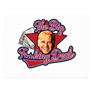 The Big F**king Deal Biden Postcard