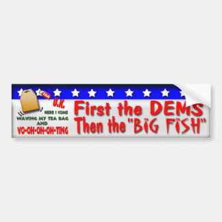 The Big Fish Bumper Sticker
