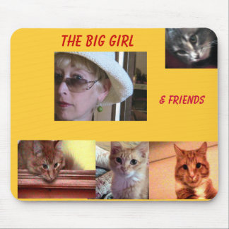 The Big Girl's Quartet Mousepad