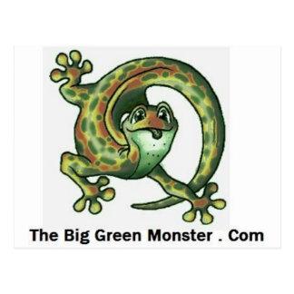 The Big Green Monster Wear Postcard