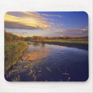 The Big Hole River at last light near Jackson Mouse Pad