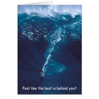 The Big Kahuna - A Surfer's Birthday Card