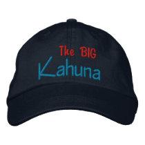 The BIG  Kahuna Embroidered Cap