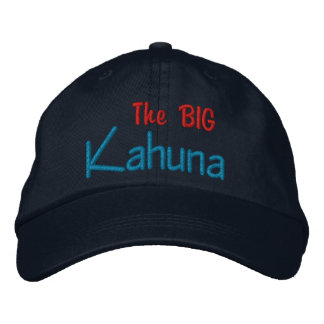 The BIG  Kahuna Embroidered Cap
