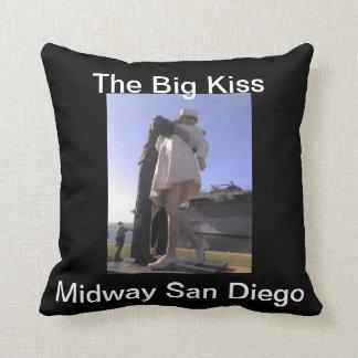 The Big Kiss Midway San Diego American Mojo Pillow