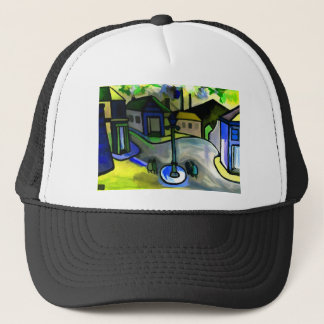 THE BIG LAMP TRUCKER HAT