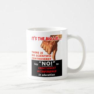 The Big Lie mug Basic White Mug