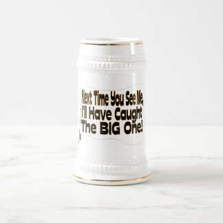 The Big One Fishing Beer Stein