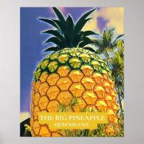 The Big Pineapple Queensland travel print