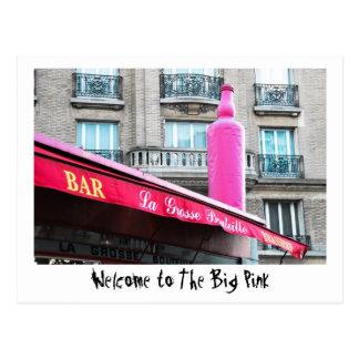 The Big Pink - Paris Postcard