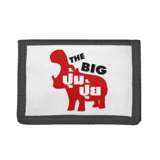 THE BIG PUM PUI ☆ Fat in Thai Language ☆ Trifold Wallet
