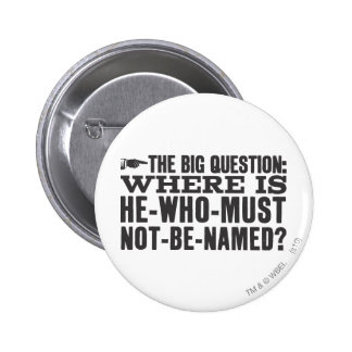 The Big Question 2 Inch Round Button