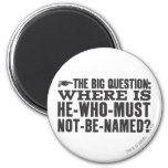 The Big Question 2 Inch Round Magnet