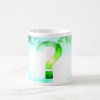 The Big Question Classic White Coffee Mug