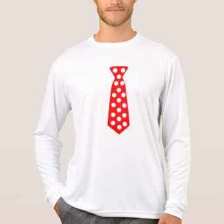 The Big Red and White Polka Dot Tie. Fun Pop Art. T Shirts