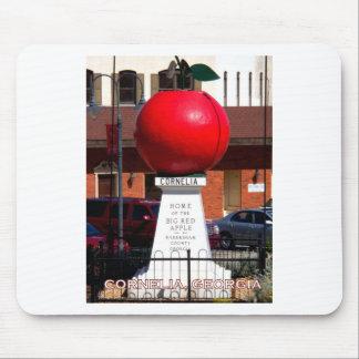 THE BIG RED APPLE - Cornelia, Georgia Mouse Pad