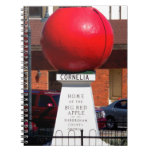 THE BIG RED APPLE - Cornelia, Georgia Notebook