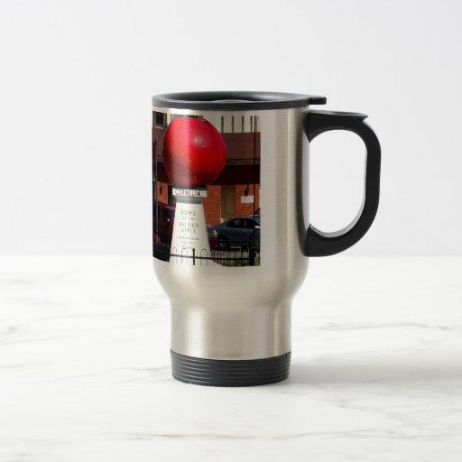 THE BIG RED APPLE - Cornelia, Georgia Travel Mug