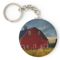 The Big Red Barn Keychain