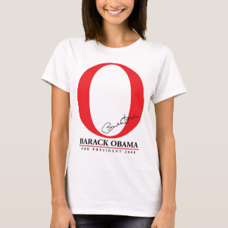 The Big Red O - Barack Obama for President T-Shirt