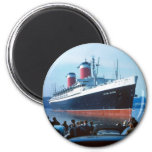 The Big Ship 2 Inch Round Magnet