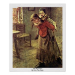 The Big Sister By Fritz Von Uhde Print