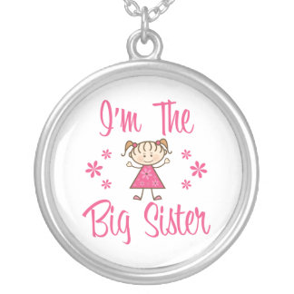 The Big Sister Round Pendant Necklace