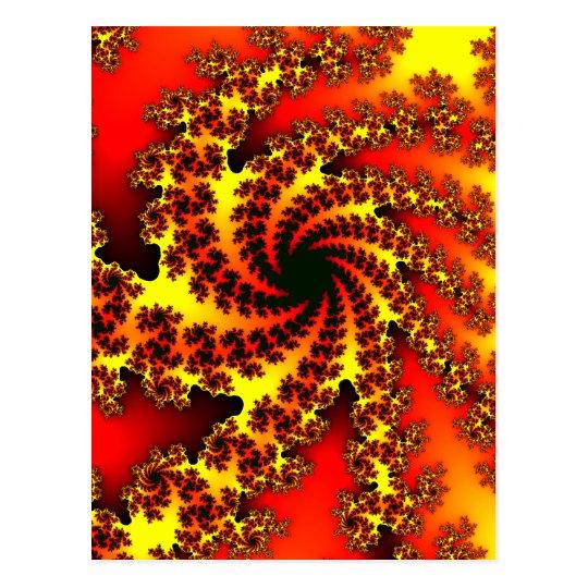 The big spiral1 postcard