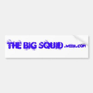 The BIG Squid, .weebl.com Car Bumper Sticker